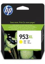 HP F6U18AE Tintapatron OfficeJet Pro 8210, 8700-as sorozathoz, HP 953XL, sárga, 1,6k