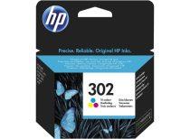 HP F6U65AE Tintapatron DeskJet 2130 nyomtatókhoz, HP 302, színes, 4ml