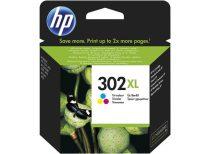 HP F6U67AE Tintapatron DeskJet 2130 nyomtatókhoz, HP 302XL, színes, 8ml