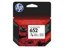 HP F6V24AE Tintapatron Deskjet Ink Advantage 1115 nyomtatókhoz, HP 652 színes, 200 oldal