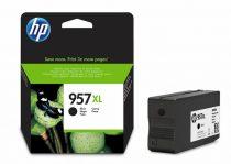 HP L0R40AE Tintapatron OfficeJet Pro 8210,8720,8730 nyomtatókhoz, HP 957XL, fekete, 3k