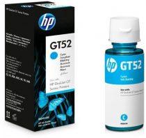 HP M0H54AE Tinta, Designjet GT 5810, InkTank 410 nyomtatókhoz, HP GT52, cián, 8k