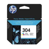 HP N9K05AE Tintapatron DeskJet  3720, 3730 nyomtatóhoz, HP 304, színes