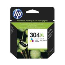 HP N9K07AE Tintapatron DeskJet 3720, 3730 nyomtatóhoz, HP 304XL színes