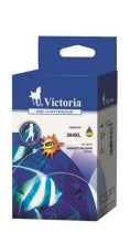 VICTORIA N9K07AE Tintapatron DeskJet 3720, 3730 nyomtatóhoz, VICTORIA 304XXL, színes, 7 ml