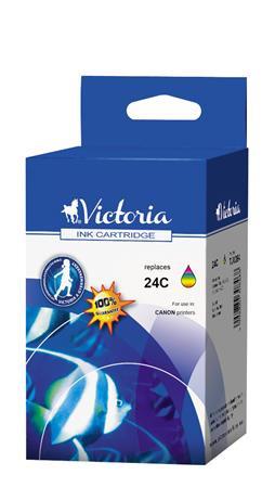 VICTORIA BCI-24C Tintapatron i250, 320, 350 nyomtatókhoz, VICTORIA, színes, 3*5ml