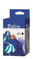 VICTORIA T07114011 Tintapatron Stylus D78, D92, D120 nyomtatókhoz, VICTORIA fekete, 7,4ml