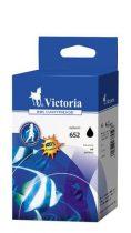 VICTORIA F6V25AE Tintapatron Deskjet Ink Advantage 1115 nyomtatókhoz, VICTORIA 652 fekete, 12ml