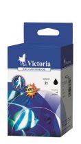 VICTORIA C9351AE Tintapatron DeskJet 3920, 3940, D2300 nyomtatókhoz, VICTORIA 21 fekete, 18ml