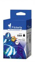 VICTORIA C9364EE Tintapatron DeskJet 5940, 6940, 6980 nyomtatókhoz, VICTORIA 337 fekete, 21ml