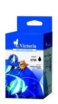 VICTORIA C8765EE Tintapatron DeskJet 460 mobil, 5740, 6540d nyomtatókhoz, VICTORIA 338 fekete, 21ml
