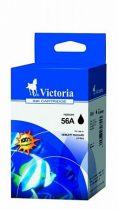VICTORIA C6656AE Tintapatron DeskJet 450c, 450cb, 5150 nyomtatókhoz, VICTORIA 56, fekete, 21ml