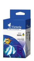 VICTORIA CC644EE Tintapatron DeskJet D2560, F4224 nyomtatókhoz, VICTORIA 300XL, színes, 440 oldal