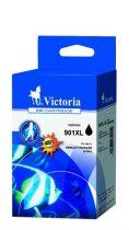 VICTORIA CC654AE Tintapatron OfficeJet J4580, 4660 nyomtatókhoz, VICTORIA 901XL fekete, 18ml