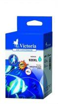 VICTORIA CD972AE Tintapatron OfficeJet 6000, 6500 nyomtatókhoz, VICTORIA 920XL, cián, 12ml