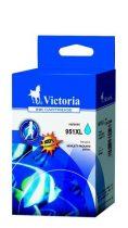 VICTORIA CN046AE Tintapatron OfficeJet Pro 8100 nyomtatóhoz, VICTORIA 951XL kék, 20ml