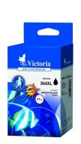 VICTORIA CN684EE Tintapatron Photosmart C5380 nyomtatóhoz, VICTORIA 364XL fekete, 18ml