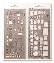 "KOH-I-NOOR Elektronikai sablon, műanyag, KOH-I-NOOR ""703071"""