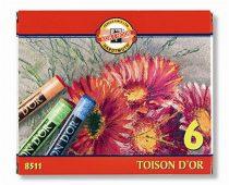 """KOH-I-NOOR Porkréta, KOH-I-NOOR """"Toison 8511/6"""", 6 különböző szín"""