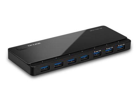 """TP-LINK USB elosztó-HUB, 7 port, USB 3.0, 5Gbps, TP-LINK """"UH700"""""""