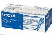 BROTHER TN2110 Lézertoner HL 2140, 2150N, 2170W nyomtatókhoz, BROTHER, fekete, 1,5k