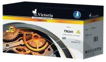 VICTORIA TN241Y Lézertoner HL 3140CW, 3150CDW, DCP 9020CDW nyomtatókhoz, VICTORIA, sárga, 1,4k