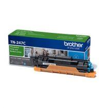 BROTHER TN247C Lézertoner  HL-L3210, HL-L3270, DCP-L3510, MFC-L3730 nyomtatókhoz, BROTHER,  cián, 2,3k
