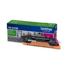 BROTHER TN247M Lézertoner  HL-L3210, HL-L3270, DCP-L3510, MFC-L3730 nyomtatókhoz, BROTHER, magenta, 2,3k
