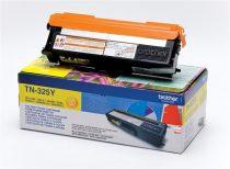 BROTHER TN325Y Lézertoner HL 4150CDN, 4570CDW nyomtatókhoz, BROTHER sárga, 3,5k