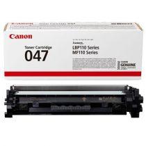 CANON CRG047 Lézertoner LBP113W, 112, MF113W nyomtatókhoz, CANON, fekete, 1,6 k