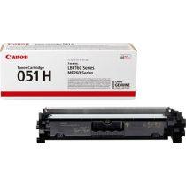 CANON CRG-051H Lézertoner i-SENSYS LBP162dw, MF269dw, MF267dw, MF264dw nyomtatókhoz, CANON, fekete, 4,1k