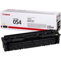 CANON CRG-054 Lézertoner i-Sensys LBP621 623, MF641, 643 nyomtatókhoz, CANON, sárga, 1,2k