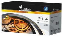 VICTORIA CRG-719A Lézertoner i-SENSYS LBP6300DN, 6650DN nyomtatókhoz, VICTORIA fekete, 2,1k