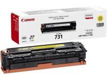CANON CRG-731Y Lézertoner MF 8230 nyomtatóhoz, CANON sárga, 1,5k