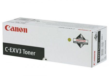 CANON C-EXV3 Fénymásolótoner IR 2200, 2800, 3300 fénymásolókhoz, CANON, fekete, 15k