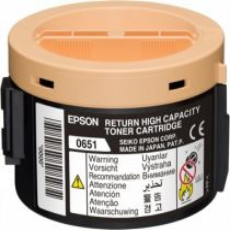 EPSON S050651 Lézertoner return Aculaser M1400, MX14 nyomtatókhoz, EPSON, fekete, 2,2k
