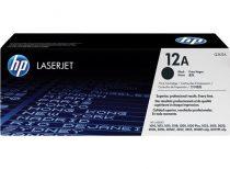 HP Q2612A Lézertoner LaserJet 1010, 1015, 1018 nyomtatókhoz, HP 12A, fekete, 2k