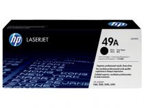 HP Q5949A Lézertoner LaserJet 1160, 1320, 3390 nyomtatókhoz, HP 49A, fekete, 2,5k