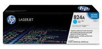 HP CB381A Lézertoner ColorLaserJet CP6015, CM6040MFP nyomtatókhoz, HP 824A, cián, 21k