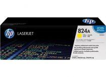 HP CB382A Lézertoner ColorLaserJet CP6015, CM6040MFP nyomtatókhoz, HP 824A, sárga, 21k
