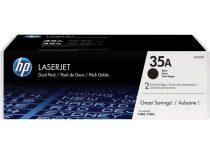HP CB435AD Lézertoner LaserJet P1005, P1006 nyomtatókhoz, HP CB435AD fekete, 2*1,5k
