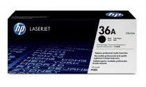 HP CB436A Lézertoner LaserJet P1505, 1505n, M1522 nyomtatókhoz, HP 36A, fekete, 2k