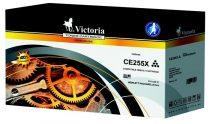 VICTORIA CE255X Lézertoner LaserJet P3015 nyomtatóhoz, VICTORIA 55X, fekete, 12,5k
