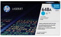 HP CE261A Lézertoner ColorLaserJet CP4525 nyomtatóhoz, HP 648A, cián, 11k