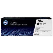 HP CE278A Lézertoner LaserJet P1566, P1606 nyomtatókhoz, HP 78A, fekete, 2,1k