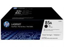 HP CE285AD Lézertoner LaserJet P1102 nyomtatóhoz, HP 85A, fekete, 2*1,6k