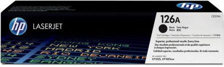 HP CE310A Lézertoner ColorLaserJet Pro CP1025 nyomtatóhoz, HP 126A, fekete, 1,2k