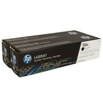 HP CE310AD Lézertoner ColorLaserJet Pro CP1025 nyomtatóhoz, HP 126A fekete, 2*1,2k