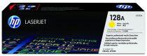 HP CE322A Lézertoner Color LaserJet Pro CM1415, CP1525N nyomtatókhoz, HP 128A sárga, 1,3K