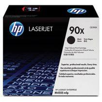 HP CE390X Lézertoner LaserJet M4555MFP nyomtatóhoz, HP 90X, fekete, 24k